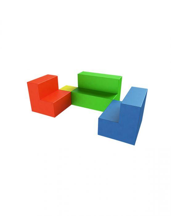 Мягкий игровой комплекс Romana Мягкая мебель (стандартный)