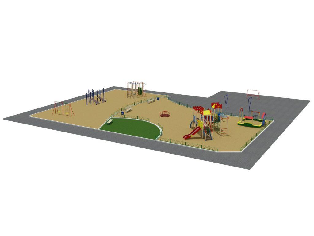 Зонирование и планировка детских игровых площадок: полный обзор