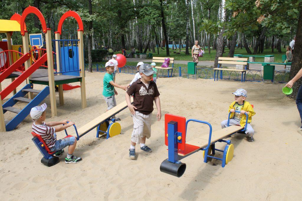 Почему так важны детские площадки?