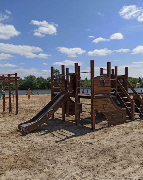 Детский игровой комплекс «Парусники» ДИК 1302 H=1200