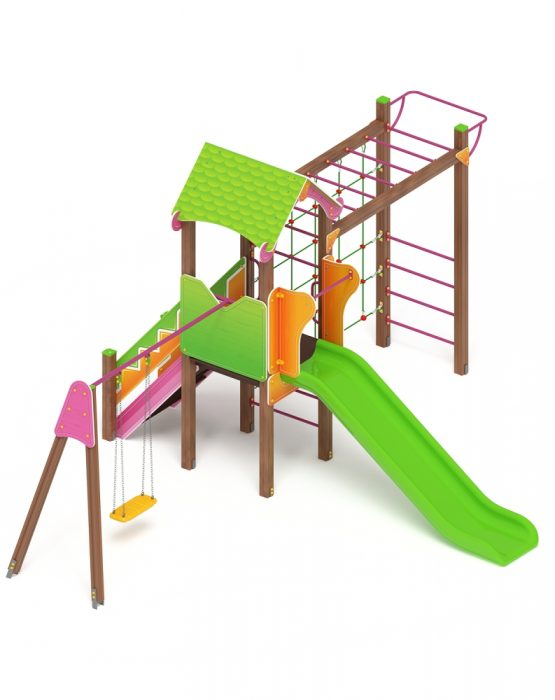 Детский игровой комплекс «Лукоморье» ДИК 2.25.03 (2503)