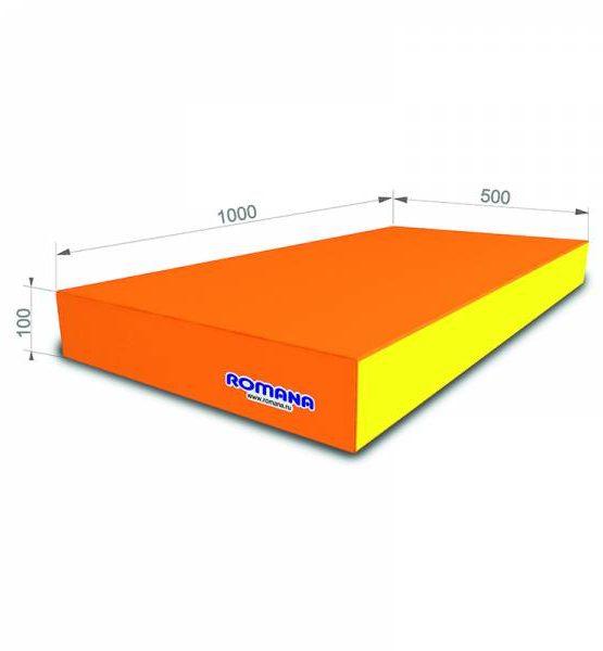 Мягкий щит pro 1*0,5*0,1 одинарный (оранжевый)