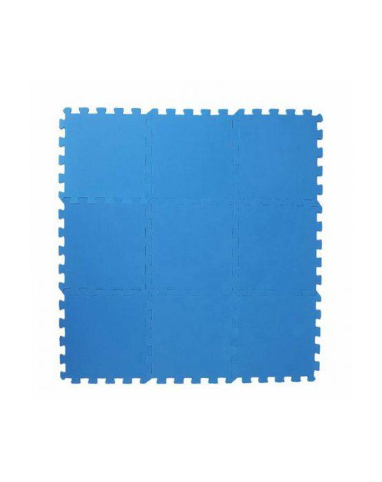 Коврик-пазл 33*33 (синий
