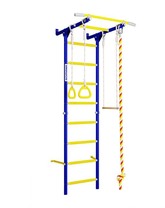 Шведская стенка ROMANA Karusel S1 (синяя слива)
