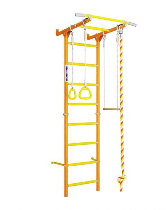 Шведская стенка Романа Karusel S1 (оранжевый)