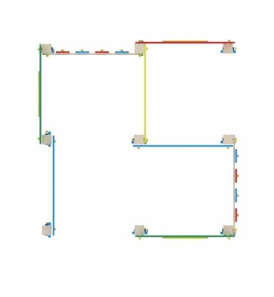 Игровая форма ИФ 401 Лабиринт кубик