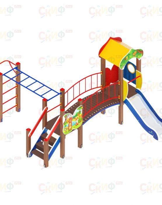 Детский игровой комплекс Полянка (ДИК 1606)