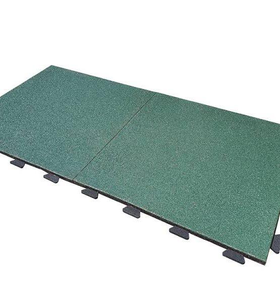 Плитка резиновая EcoStep  (зелёная)