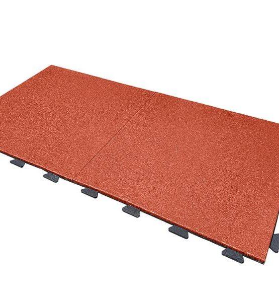 Плитка резиновая EcoStep (терракот)