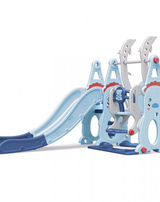 Детский игровой комплекс WM19019 Снеговик (голубой)