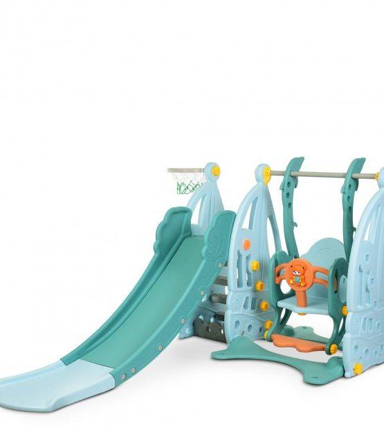 Детский игровой комплекс Парусник (голубой)