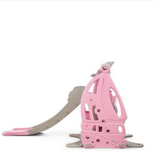 Детский игровой комплекс Парусник (розовый)