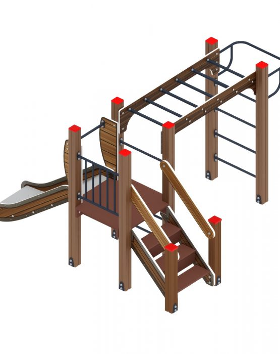 Детский игровой комплекс «Карапуз» ДИК 1.001.02-01